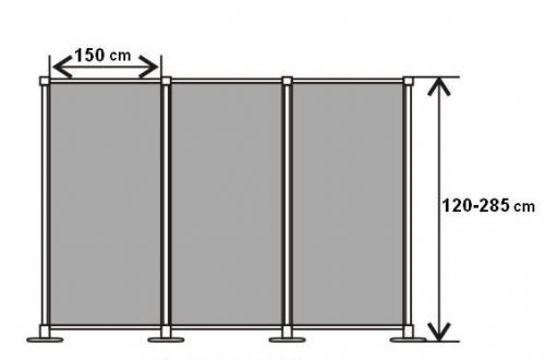Press-Wall составной (2 секции)